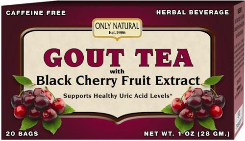 Natural gout tea
